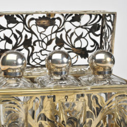 The image for Valerie Wade Bohemian Silver Glass Drinks Set 04