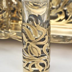 The image for Valerie Wade Bohemian Silver Glass Drinks Set 05