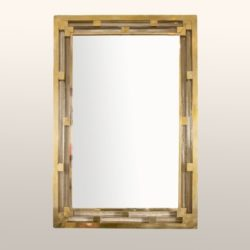 The image for Valerie Wade Brass Glass Mirror 01