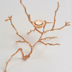 The image for Valerie Wade Brass Twig Candle Holder 03