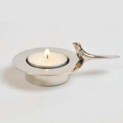 The image for Valerie Wade Chrome Bird Holder 01