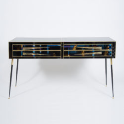 The image for Valerie Wade Italian Black Cabinet –2