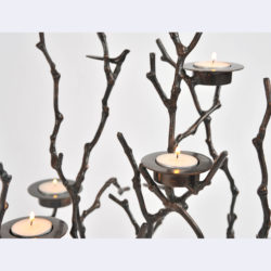 The image for Valerie Wade Twig Candle Holder 03