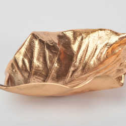 The image for Valerie Wade Cast Bronze Leaf Small 02