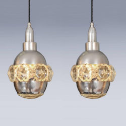 The image for Valerie Wade Two Small Jewel Chandeliers 05 L