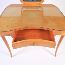 The image for Wood Italian Dressing Table 08