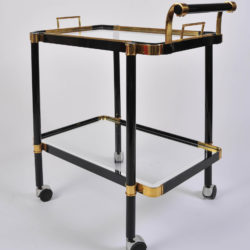 The image for Black Drinks Trolley 01