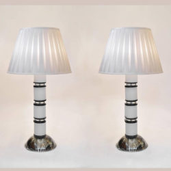 The image for Black And White Lamps L