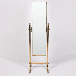 The image for Brass Dressing Mirror 01