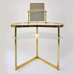 The image for Brass Dressing Table Main Image