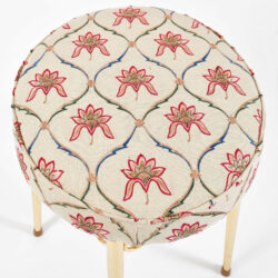 The image for Brass Dressing Table Stool 05