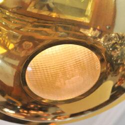 The image for Brass Pendant Light Detail
