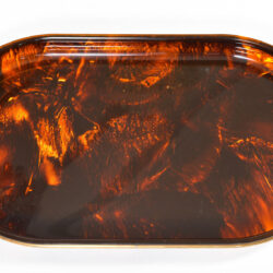 The image for Faux Tortoise Shell Tray 04