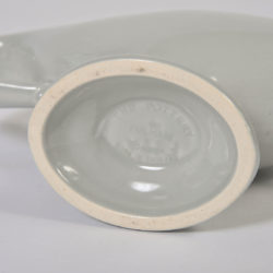 The image for Fulham Vase Blue Grey Detail