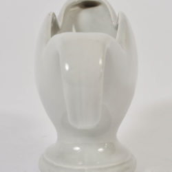 The image for Fulham Vase Blue Grey Detail3