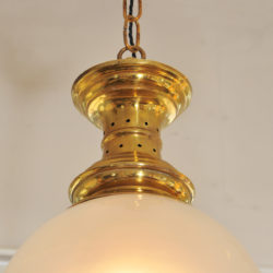 The image for Glass Brass Pendant 01