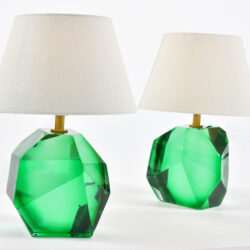 The image for Green Glass Rock Lamps 02