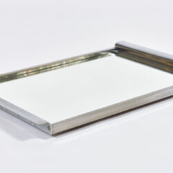 The image for Medium Chrome Mirrored Tray 02