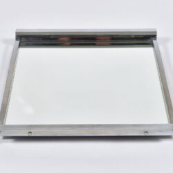 The image for Medium Chrome Mirrored Tray 04