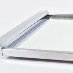 The image for Medium Chrome Mirrored Tray 06