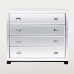 The image for Valerie Wade Fc303 Venice Chest Drawers Faceted Crystal Handles 01