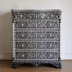 The image for Valerie Wade Fc392 Mother Of Pearl Chest Five Drawers 01