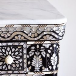 The image for Valerie Wade Fc392 Mother Of Pearl Chest Five Drawers 03
