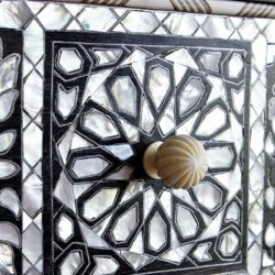 The image for Valerie Wade Fc392 Mother Of Pearl Chest Five Drawers 05