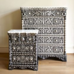 The image for Valerie Wade Fc472 Mother Of Pearl Side Cabinet 02