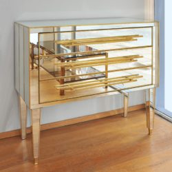 The image for Valerie Wade Fc661 1970S Italian Mirrored Chest Drawers 02