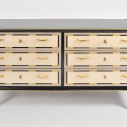 The image for Valerie Wade Fc664 1980S Italian Double Width Chest Drawers 02