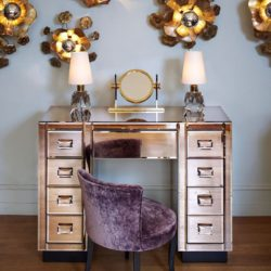 The image for Valerie Wade Fd056 Venice Dressing Table Bureau 02
