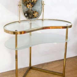 The image for Valerie Wade Fd336 Brass Polka Dot Dressing Table Ii