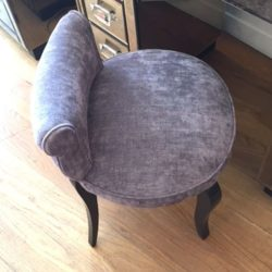 The image for Valerie Wade Fs027 Low Back Upholstered Seat 03