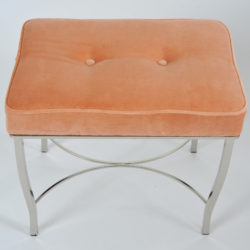 The image for Valerie Wade Fs650 1960S French Chrome Stool 02