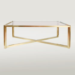 The image for Valerie Wade Ft312 1950S Italian Brass Coffee Table01