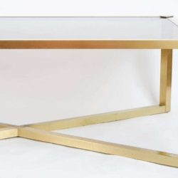 The image for Valerie Wade Ft312 1950S Italian Brass Coffee Table03