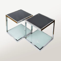The image for Valerie Wade Ft345 Pair 1950S Chrome Side Tables 01