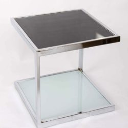 The image for Valerie Wade Ft345 Pair 1950S Chrome Side Tables 02