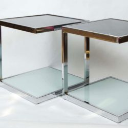The image for Valerie Wade Ft345 Pair 1950S Chrome Side Tables 03