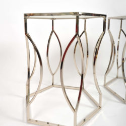 The image for Valerie Wade Ft598 Pair 1960S Us Hexagonal Side Tables04