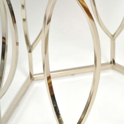 The image for Valerie Wade Ft598 Pair 1960S Us Hexagonal Side Tables06