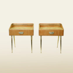 The image for Valerie Wade Ft630 Pair 1950S Italian Bedside Tables 01