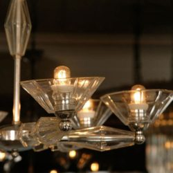 The image for Valerie Wade Lc083 1950S Italian Six Arm Glass Chandelier 04