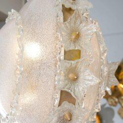 The image for Valerie Wade Lc317 1970S Italian Super Ornate Glass Chandelier 02