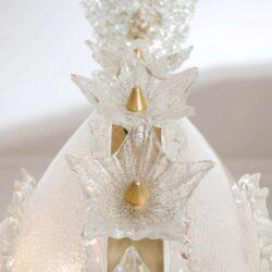 The image for Valerie Wade Lc317 1970S Italian Super Ornate Glass Chandelier 05