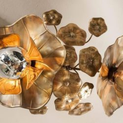 The image for Valerie Wade Lc544 Lotus Flower Ceiling Lights 03
