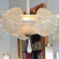 The image for Valerie Wade Lc580 1950S Glass Chandelier Barovier E Toso 03