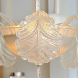 The image for Valerie Wade Lc580 1950S Glass Chandelier Barovier E Toso 06