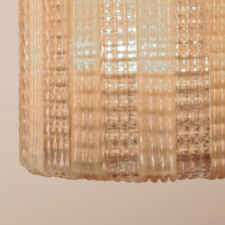 The image for Valerie Wade Lc631 1950S Italian Pink Glass Chandelier 02